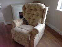 Large Celebrity riser recliner chair
