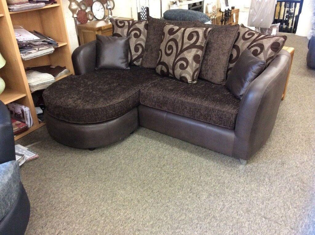 New showroom ex display lounger sofa