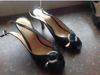 Clarks evening/wedding type shoes size 7