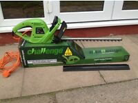 Challenge mains electric Hedgetrimmer