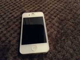 White iPhone 4 not working