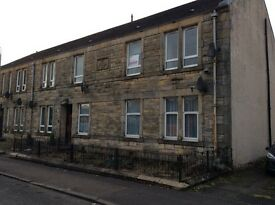 Alloa, West end, two bed upper flat.
