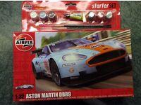 Airfix Starter Set - Aston Martin DBR9 - Brand new and unopened