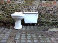 White ceramic cistern.