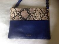 Gorgeous leather Kurt Geiger cross body bag