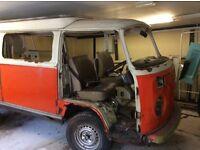 1973 VW camper van