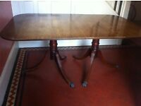 Extra Large Vintage or Antique Extendable Dining Table / Can Deliver