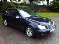 Mercedes Benz C270 Blue 5 Door Saloon Big Engine Bargain
