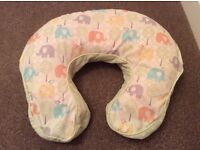 Baby Feeding/Nursing Cushion & Spare Cover-Excellent Condition