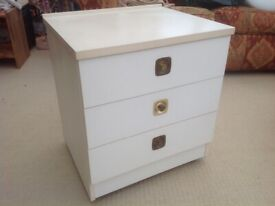 Bedside Cabinet/Small Set of Drawers