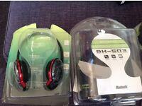 Bluetooth stereo headphones BNIB