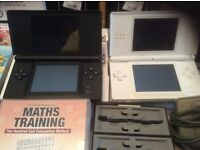 Two ninetendo ds lights. Both in excellent condition. Come with selection of games and charger.