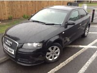 2006 55 REG AUDI A3 2.0 TDI 6 SPEED MANUAL MOT JUNE 2017 VOSA CHECKED 125265miles VGC