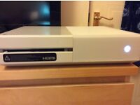 WHITE SPECIAL EDITION XBOX ONE, NEW CONTROLLER AND 7 GREAT GAMES