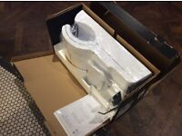 Dyson AB14 white hand dryer. Boxed