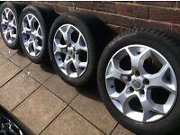 """16"""" Vauxhall snoflake alloys"""