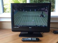 """Tevion 12v 19"""" HD lcd tv with remote ideal for camper/caravan"""