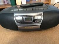 JVC Stereo - CD, radio and double tape deck