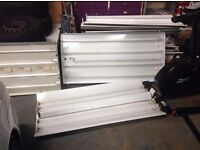 Suspended Ceiling Fluorescent Lights 8 x 1200mm by 600mm
