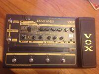 MULTI FX PEDAL - VOX Valvetronix Tonelab EX Multi-FX Pedal
