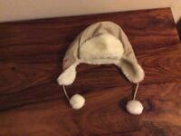 Monsoon girls trapper hat age 6-10 years
