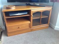 TV unit in teak made by Stag Furniture Co.