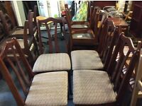 4 x dining chairs £20