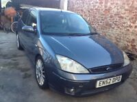 Ford Focus st170 with Recaro full leather heated front seats