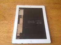 iPad 4. White FAULTY