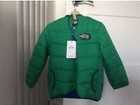 Brand new with tags boys winter jacket age 4-5