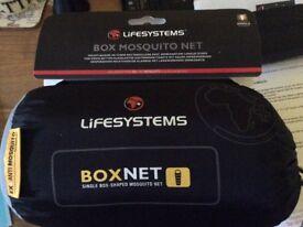 Mosquito Net Box type single brand new