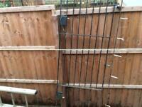 Steel gate 770 x 2200mm