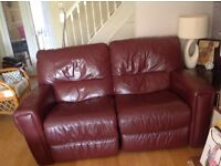 I have a leather recliner three seater sofa,a bookcase ,a mahogany corner unit and 2comp desks +more
