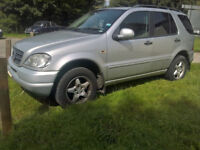 1999 Mercedes W163 ML 320 Auto Breaking for Spare Parts