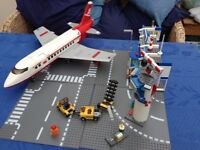 Lego City airport and plane set 3182