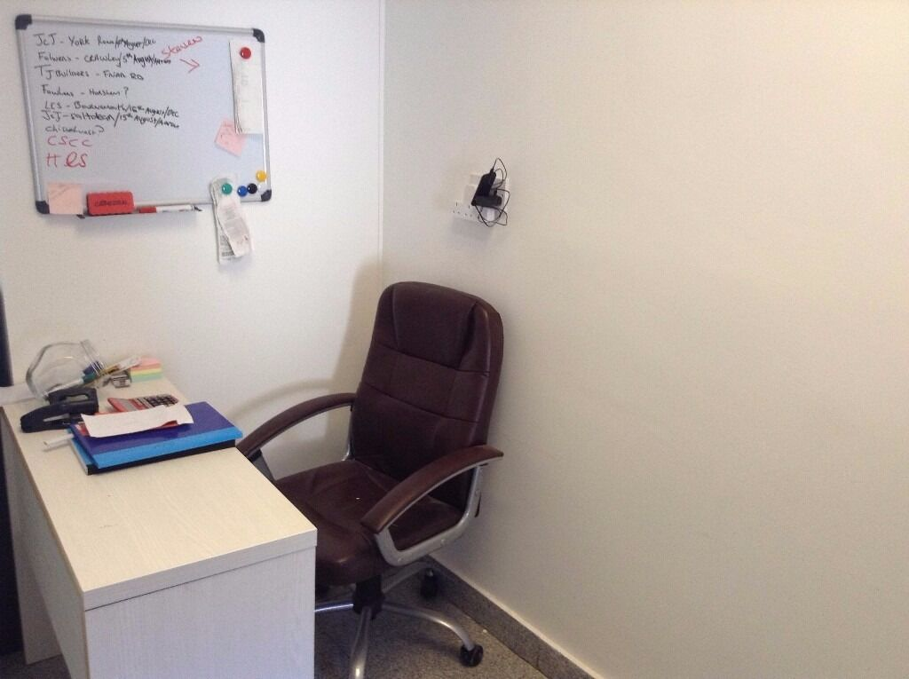 SB Lets are delighted to offer a FULLY EQUIPPED COMPACT OFFICE TO RENT WITH SHARED KITCHEN & TOILET