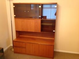 Quality wall unit/Drinks cabinet