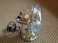 12 inch Chrome Desk Fan