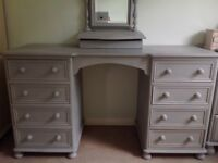 Solid pine dressing table - painted with Annie Sloan
