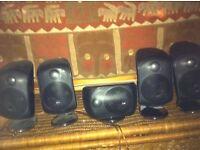 Bowers & Wilkins M-1 Satellite Speakers X 5