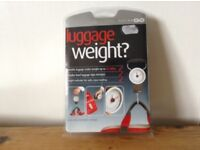 Luggage weight .
