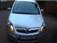 Vauxhall zafira Sri 1.9 cdi e4 diesel Low milage 7 seater