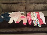 Girls Up to 3 months clothing bundle