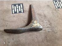 Cobblers cast iron shoe
