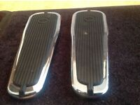 Harley Davidson floor boards, possibly softail custom deluxe?