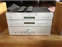 Cambridge Audio Stereo System with Kef Coda 70 speakers
