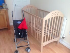 New baby buggy plus other items