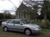 Volvo S40 2.0l petrol manual full mot 67k miles full leather tow bar cheap car **£495**