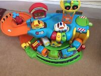VTech Baby Toot Toot Drivers Garage with 10 Vehicles