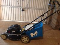 Macallister 1400cc petrol lawn mower